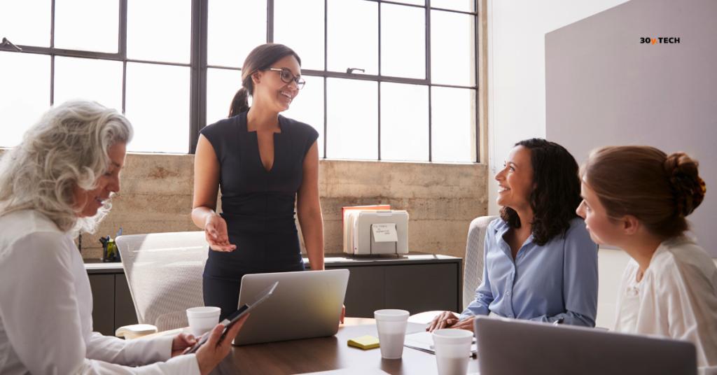 Habilidades de una mujer emprendedora exitosa